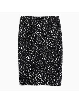 Tall Pencil Skirt In Daisy Floral by J.Crew