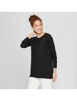 Women's Crew Neck Luxe Pullover Sweater   A New Day™ by A New Day™