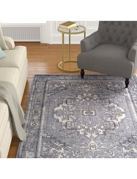 Charlton Home Thissell Vintage Persian Medallion Gray Area Rug & Reviews by Charlton Home
