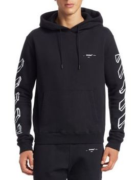 Arrow Marker Graphic Hoodie by Off White