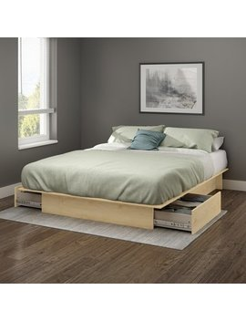 South Shore Step One Storage Platform Bed by South Shore