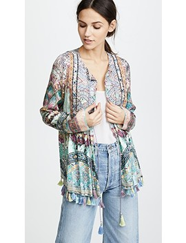 Sisters Of The Marigold Bib Top by Camilla