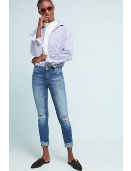 Dl1961 Florence Mid Rise Cropped Skinny Jeans by Dl1961