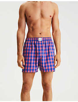Ae Volos Plaid Boxer by American Eagle Outfitters