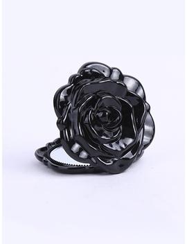 Rose Shaped Fold Mirror by Romwe