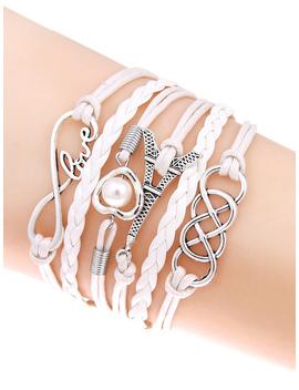Plaited Layered Bracelet by Romwe