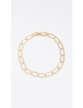 Geo Metal Chain Necklace by Bauble Bar
