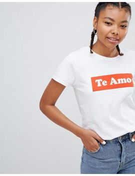 Heartbreak Te Amo T Shirt by Top