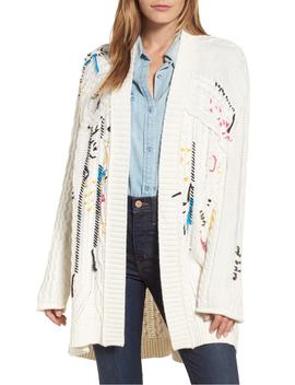 Knitty Gritty Cardigan Sweater by Caslon®