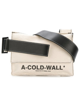A Cold Wall*Logo Print Shoulder Baghome Men Bags Shoulder Bags by A Cold Wall*