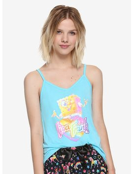 Lisa Frank X Sponge Bob Square Pants Girls Sleep Set Hot Topic Exclusive by Hot Topic
