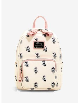 Loungefly Disney Minnie Mouse Satin Mini Backpack by Hot Topic