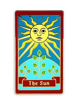 Pinsanity Tarot Card Enamel Lapel Pin by Pinsanity