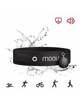 Moov Hr Sweat, Swim Tracker Heart Rate Monitor& Audio Coach, Bluetooth Headband, Running Hiit Cycling For Android And I Os by Moov