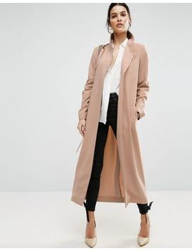 Asos – Duster Trenchcoat I Crêpe by Asos