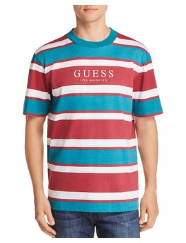 Peer Striped Tee by Guess