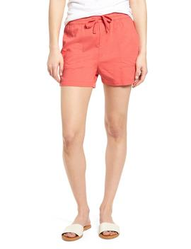 Pull On Twill Shorts by Caslon®