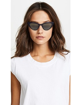 Orchid Cat Eye Sunglasses by Lgr