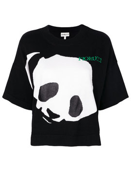 Fioruccipanda Print T Shirthome Women Clothing T Shirts & Jerseys by Fiorucci