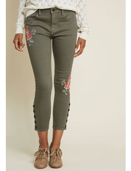 Driftwood A Feminine Force Skinny Jeans by Modcloth
