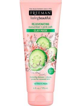 Freeman Facial Cucumber And Pink Salt Clay Mask, 6 Oz. by Freeman