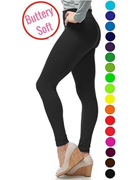 Lmb Extra Soft Leggings With High Yoga Waist   20 Colors   Plus by Lmb