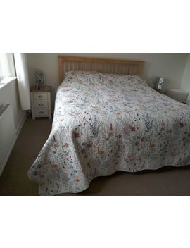 V&Amp;A Blythe Meadow Throw/Quilted Cover   King Size by Ebay Seller