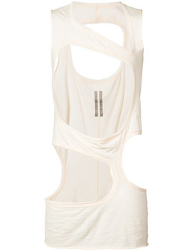 Rick Owens Mb Iii Tophome Men Clothing Vests & Tanks by Rick Owens