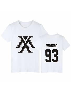 Chairay Monsta X Shirt Shownu I.M Minhyuk Wonho Unisex Tee T Shirt by Chairay