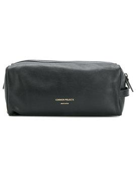 Common Projectsembossed Logo Wash Baghome Men Accessories Wash Bags by Common Projects