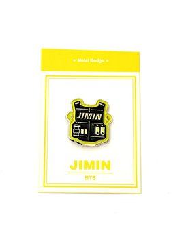 Kpop Metal Badge Logo Bts Jimin by Chakshop