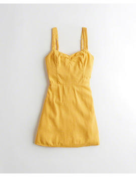 Tie Back A Line Dress by Hollister