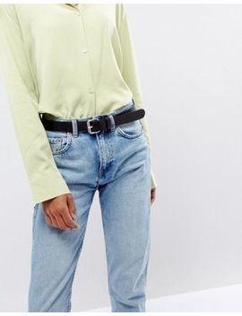 Weekday Leather Belt by Weekday