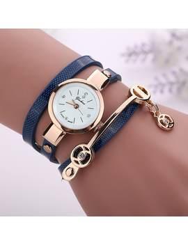 Yakoo Luxury Fashion Ladies Quartz Wristwatch Women Dress Dial Bracelet Watch by Gamiss