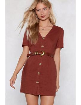 That's A Wrap Mini Dress by Nasty Gal