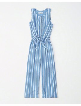 Tie Front Jumpsuit by Abercrombie & Fitch