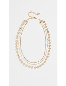 Sophia Layered Choker Necklace by Bauble Bar