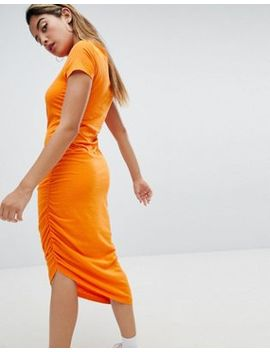 Noisy May Asymmetric Jersey Dress by Noisy May