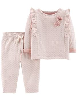 2 Piece Polka Dot Top & Pant Set by Carter's