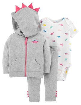 3 Piece Dinosaur Little Jacket Set by Carter's