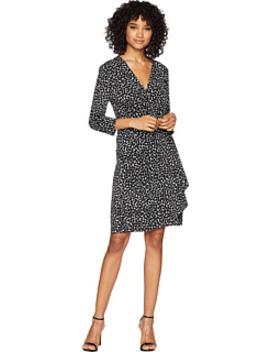 Adele Knit City Wrap Dress by Bcbgmaxazria