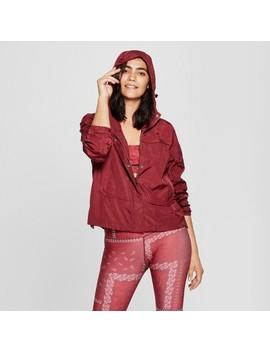 Women's Woven Lined Jacket   Joy Lab™ Zinfandel Red by Joy Lab™