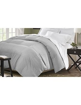 Blue Ridge Home Fashion Microfiber Down Alternative Comforter, King, Platinum by Blue Ridge Home Fashion