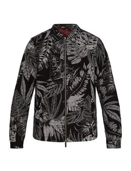 Gorgy Printed Linen Jacket by Ted Baker
