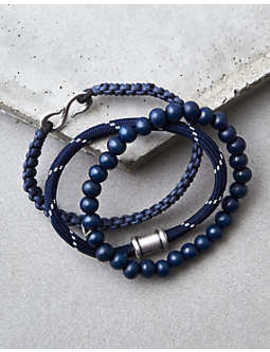 Aeo Navy Bead Bracelet Set by American Eagle Outfitters