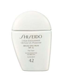 Shiseido Urban Environment Oil Free Uv Protector Broad Spectrum Spf 42 For Face by Shiseido