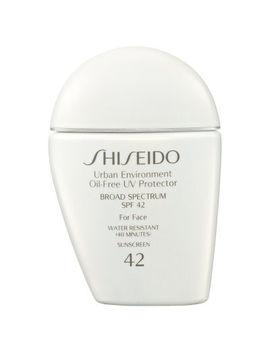 Shiseido Urban Environment Oil Free Uv Protector Broad Spectrum Spf 42 For Face by Shiseido