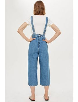 Petite Wide Cropped Leg All In One by Topshop
