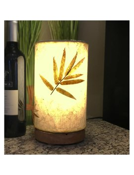 "Eangee Home Design Paper Bamboo 9"" Table Lamp by Eangee Home Design"