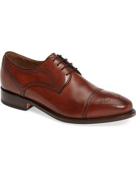 collins-cap-toe-oxford by johnston-&-murphy